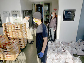 Rosewood Food Distribution Taking Place